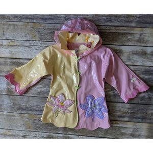 Kidorable Floral Rain Jacket size 4T